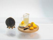 Dollhouse Miniature Handcrafted Lemonade in Process Board