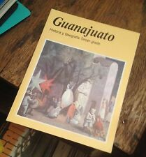 GUANAJUATO Historia y Geografia TERCER GRADO SPANISH Free US Shipping MEXICO