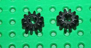 Lego Technic Black Gear 12 Tooth Double Bevel ref 32270/set 8109 4481 7754 8258