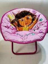 Dora the Explorer 'How Pretty!' Mini Saucer Chair