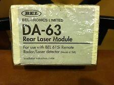 Bel-Tronics Da-63 Rear Laser Module, for use w/ Bel 615iR Detector