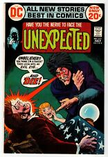 Dc - Unexpected #137 - Wood Inks - Vg July 1972 Vintage Comic