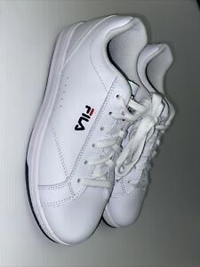 Fila Mens Leather Upper Shoes Size EUR39.5 (very Good Condition)
