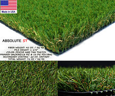 3 X 11 Absolute Synthetic Turf Artificial Lawn Landscape Grass Outdoor Patio Dog