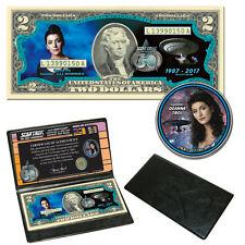 Star Trek: The Next Generation Coin & Currency Collection  - Counselor Troi