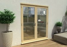 PATIO FRENCH DOORS - 6ft 1800mm 54mm - 1.4 U-VALUE - SUPPLIED UNFINISHED