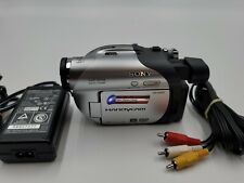 New ListingSony Mini Dvd Handycam Dcr-Dvd105 Digital Video Camera Recorder Tested Works