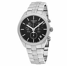 Tissot Men's PR 100 Black Dial Chronograph Swiss Quartz Watch T1014171105100