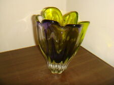 VINTAGE MURANO GLASS VASE 4