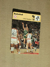 FICHE CHAMPION BASKETBALL NBA JOHN HAVLICEK  BOSTON CELTICS  USA 1978
