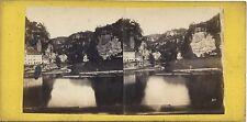 Suisse Saxonne Schweiz Stéréo Stereoview Vintage albumine ca 1857-60
