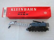 Ancien wagon grue marchandise train HO KLEINBAHN, ref 359 en boîte