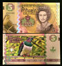 PITCAIRN ISLANDS 5 POUNDS Banknote World Paper Money UNC Currency Bill Note
