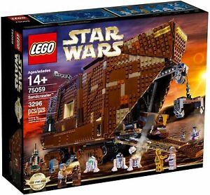 LEGO StarWars Sandcrawler (75059) Neu versiegelt EOL sealed new Sammlung