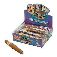 Fake Jumbo Fat Smoking Cigar Fancy Dress Gangster Mexican Costume Accessory Prop