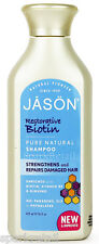 Jason Organic Restorative BIOTIN Shampoo Repairs Damaged Hair 473ml