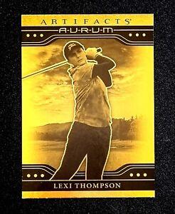 2021 Upper Deck Artifacts Aurum #13 Lexi Thompson
