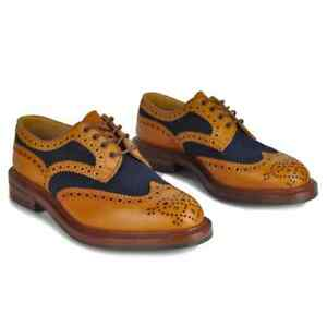 NEW TRICKER'S Bowood Two-Tone Derby Brogues, UK10