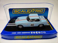 Scalextric MGB 1964 Sebring DPR W/ Lights 1/32 Scale Slot Car C3312