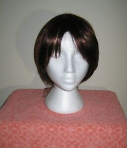 Forever Young Troika brunette highlighted wig, NWT