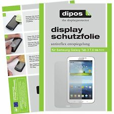2x dipos Samsung Galaxy Tab 3 7.0 T211 screen protector protection anti glare