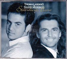 ♫ THOMAS ANDERS & GLENN MEDEIROS Standing Alone .. 1992 Polydor Maxi CD TOP