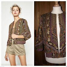 Zara Blazer Coats & Jackets without Fastening for Women