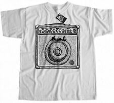 Guitar Amp T-Shirt 100% Premium Cotton Gift Present Band