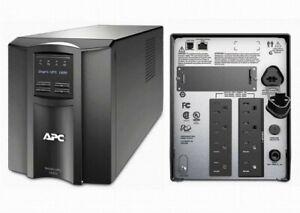 APC SmartUPS 1500VA LCD - SMT1500 - NEW Batteries - 1 YEAR Warranty on batteries