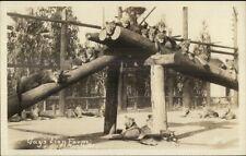 El Monte CA Gay's Lion Farm Real Photo Postcard #5