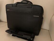 Porsche Design bolso XL briefbag cl2 3.0 horizontales negro de cuero bolsa de ordenador portátil grande