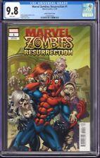 Marvel Zombies: Resurrection #1 (Marvel Comics, 2020) CGC 9.8 Lubera Variant