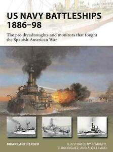Osprey New Vanguard 271: US Navy Battleships 1886-98 - Brian Lane Herder.