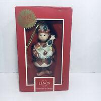 "NIB Lenox Jingle Bell Christmas Ornament 3"""