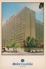 ANTIGUA POSTAL DE MADRID . HOTEL MELIA CASTILLA . MAS EN MI TIENDA CC1555