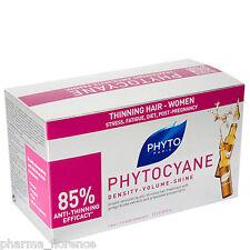 Phyto PHYTOCYANE Traitement Anti Chute pour les Cheveux Femme Amincissement -