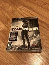 Tomb Raider (Sony PlayStation 3, 2013) Ps3 Exclusive Cib VC4