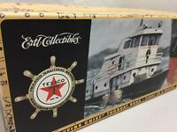 Ertl Collectibles TEXACO Fire Chief Die-Cast Tugboat Coin Bank 1st in Series NIB