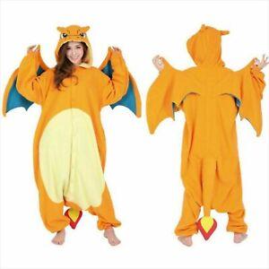 Pokemon Charizard Costume Cosplay Lizardon SAZAC Fleece Kigurumi