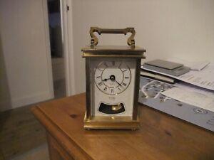Lovely Quartz Mantle Clock by Metamec With Pendulum