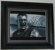 STEFAN KAPICIC Signed Deadpool Colossus FRAMED AUTHENTIC AFTAL Not copy or print
