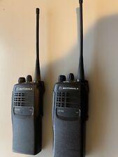 Motorola GP340 UHF and VHF