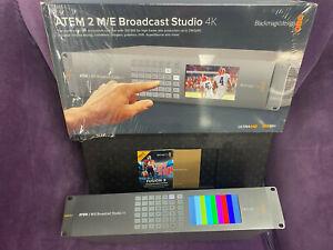 Blackmagic Design ATEM 4 M/E Broadcast Studio 4K Switcher 12G 4K 60FPS