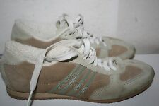 Women's American Eagle Outfitters Lace Up Sneakers, Cream Suede, Size 7 US S#E1