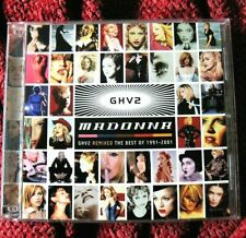 MADONNA GHV2 MEGAMIX REMIXES 2 DISC PROMO ONLY PICTURE CD FRONT BACK SINGLE LP