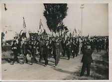 VILLEROY c. 1930 - Militaires Anniversaire Bataille de la Marne - PRM 399