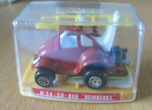 GUISVAL VW GO-BUG BOMBEROS MINT IN BOX