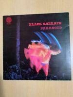 Black Sabbath – Paranoid Vinyl LP Mega Rare UK 1st Pressing 1Y//1 2Y//1 *VG+*