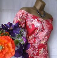"""***MONSOON BNWT """"EVERLY RED"""" DRESS SIZE 18***"""