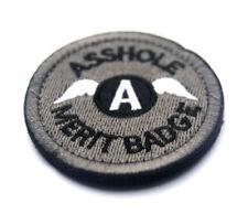 "BuckUp Tactical Morale Patch Hook A-Hole Merit Badge 2.5"" ACU"